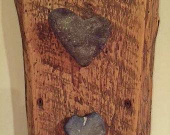 Heart Rock Wall art