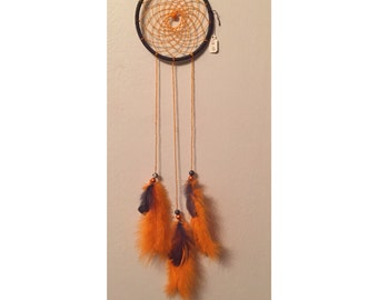 Dream catcher~ orange and grey