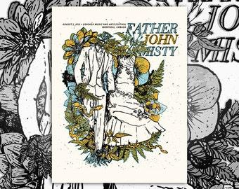 Father John Misty Screenprint