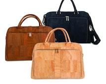 Cork Briefcase -  Vegan Eco-Friendly Gift Idea