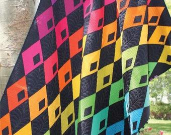 ON SALE 20% Diamond Detour Quilt Pattern by Sassafras Lane Designs