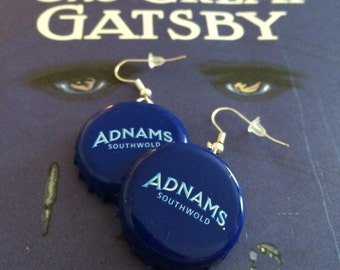Adnams Bottle Top Earrings