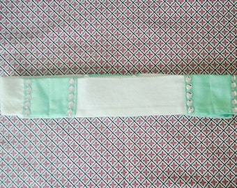 White & Mint Pastel Delight Belt