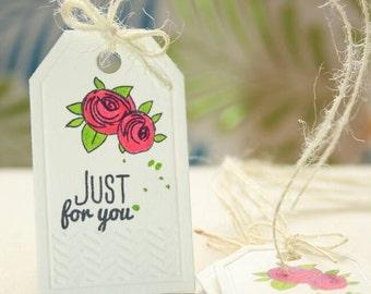 Handmade Gift Tags - Set of 10