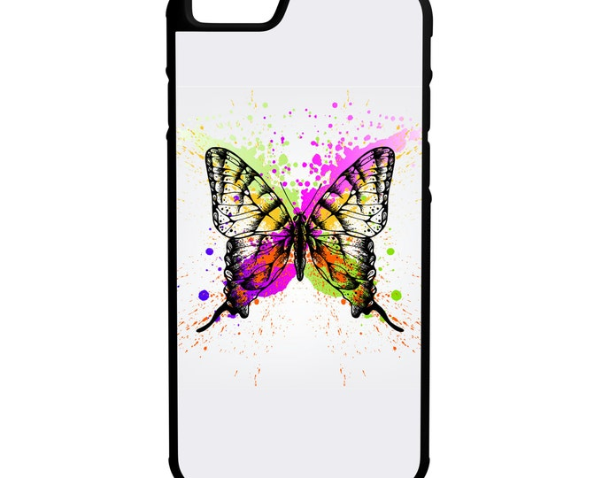 Butterfly Effect iPhone Galaxy LG Hybrid Rubber Protective Case