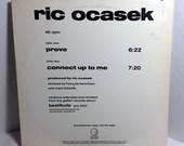 Ric Ocasek vintage vinyl record - Prove Maxi-Single 45 rpm WL PROMO || 80's Pop Rock || The Cars