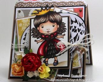 Sassy princess card