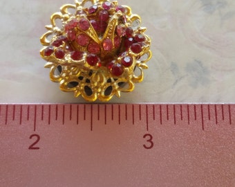 Beautiful jeweled refrigerator magnet