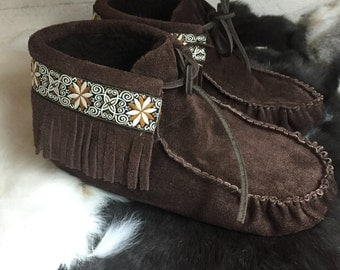 FRINGE BOOT Moccasin Kit