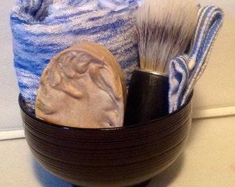 Mens Shaving Soap Set