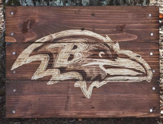 Like this item? - Baltimore Ravens Pallet Wood Art Reclaimed Wood Sign Pallet