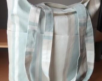 lovely light fabric tote bag