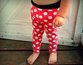 Minnie polka dot Leggings pants baby/toddler
