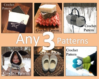 PICK ANY 3 PATTERNS