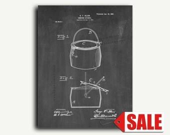 Patent Art - Cooking Utensil Patent Wall Art Print
