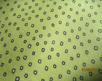 Yellow Pixie Dots by Ink and Arrow fabrics cotton fabric