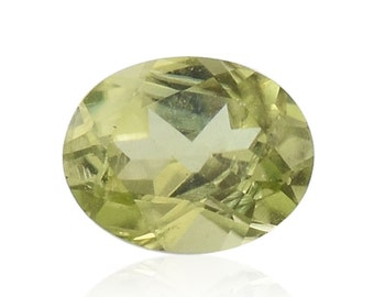 Hebei Peridot Loose Gemstone Oval Cut 1A Quality 5x4mm TGW 0.30 cts.