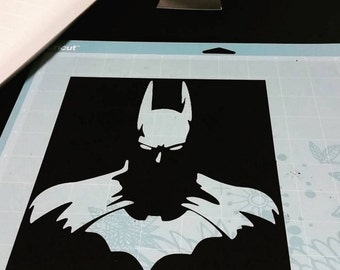 The Batman Silhouette Vinyl Decal