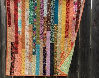 Rainbow Baby Quilt - SOLD