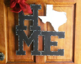 State home door hanger