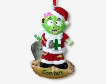 Zombie ornament | Etsy