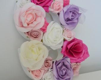Floral Letter 'S'