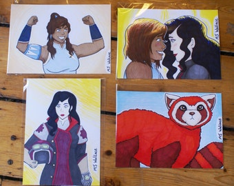 Legend Of Korra - Marker Drawings