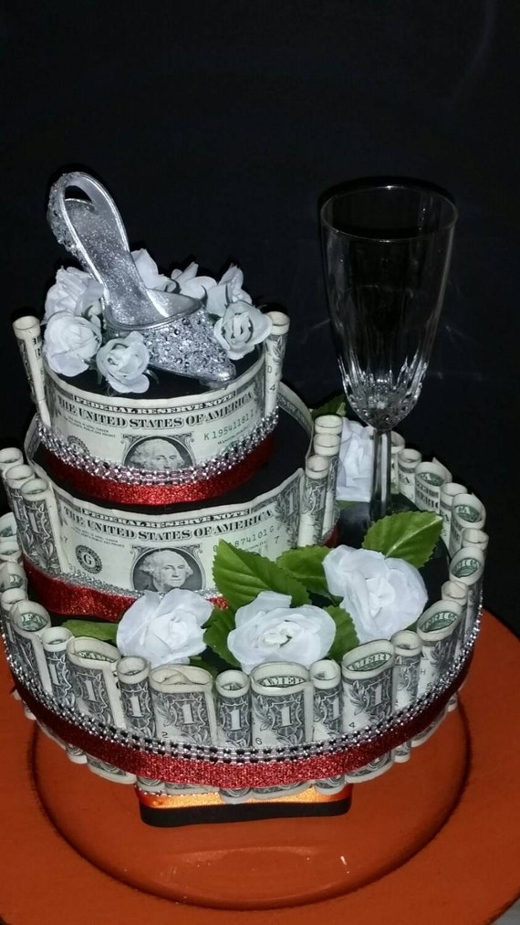 Items Similar To Real Money Cake For A Birthday Wedding