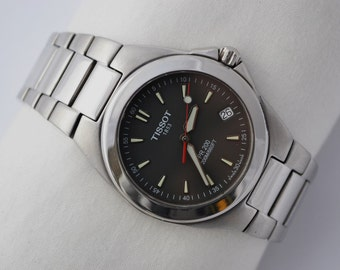 Vintage Tissot 1853 Pr200 Stainless Steel Mens Quartz Watch 972 -  Make Me An Offer!