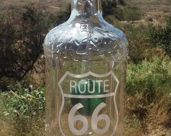 Route 66 Crystal Wind Chime