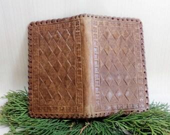 hermes knock off - Vintage leather card case \u2013 Etsy