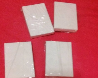 Sample soap bars