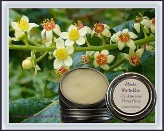 Frankincense,  Ylang-Ylang,  Sweet Orange,  Ginger Solid Cream Perfume, Fragrance