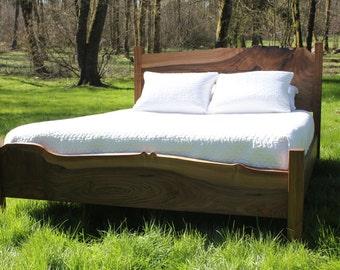 Live Edge Bed