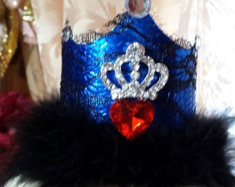 Descendants birthday crown, Evie Crown headband, descendants headband, Evie hair accessories, Evie birthday crown, Mal birthday crown