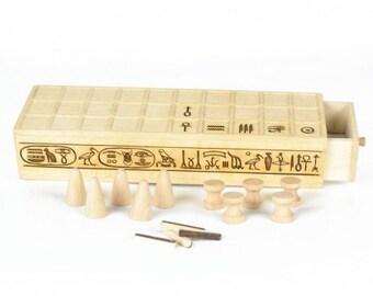Senet - Tulipwood egyptian game