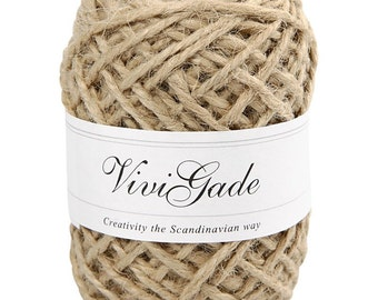 Natural Hemp String 30m
