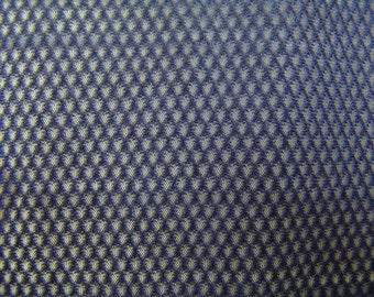 Navy Sports Mesh fabric vintage