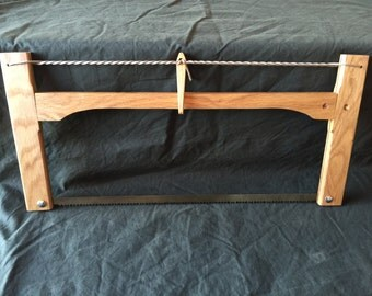 Bushcraft folding bow saw