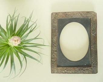Backless Silver Frame and Mat