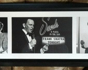 Vintage Framed  Frank Sinatra Pictures