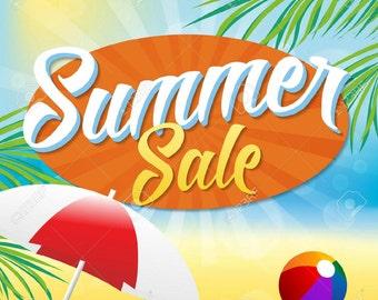 Sweet summer sale! 20% off!