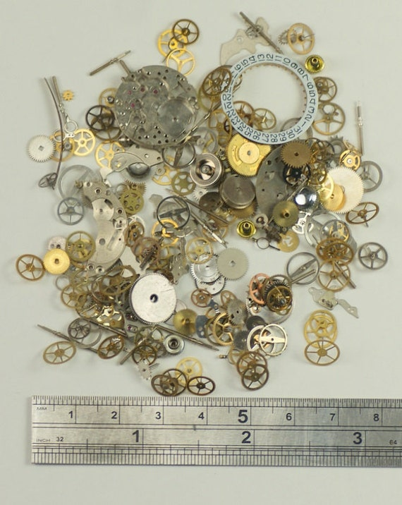 15g watch parts jewellery making steampunk altered art craft for Steampunk arts and crafts