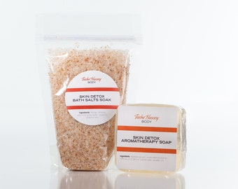 Skin Detox Bath Salts and Skin Detox Soap