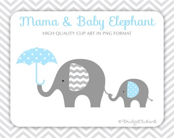 Elephant Clipart, Baby Elephant Clipart, Elephant Clip Art, Baby Shower  Clipart, Baby