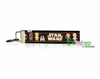 Star Wars Comics wrist key chain key fob wristlet