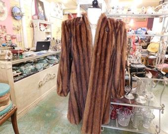 1950's  Muskrat coat