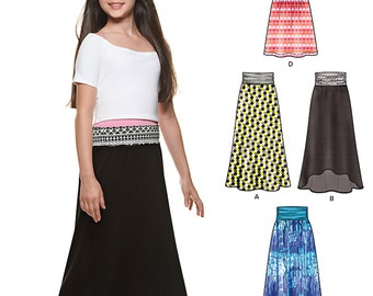 New Look Pattern 6338 Girl's skirts