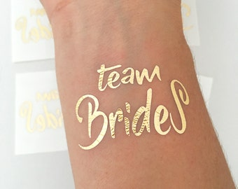 Lesbian wedding, same sex marriage, mrs & mrs, lesbian bachelorette party, lesbian party, gold tattoo