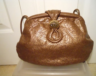 Vintage Park Avenue Int. leather bag